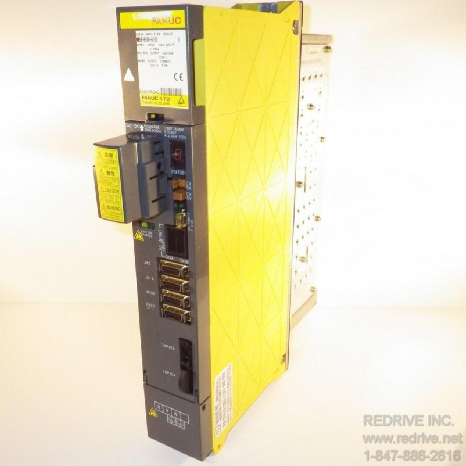 A06B-6096-H103 FANUC Servo Amplifier Module SVM1-40S FSSB alpha servo amp.