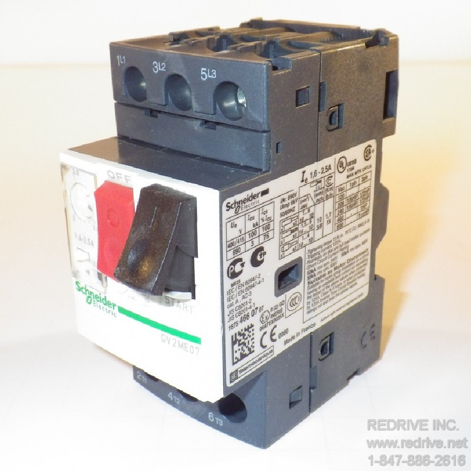 Gv2me07 Schneider Electric Motor Starter And Protector 2