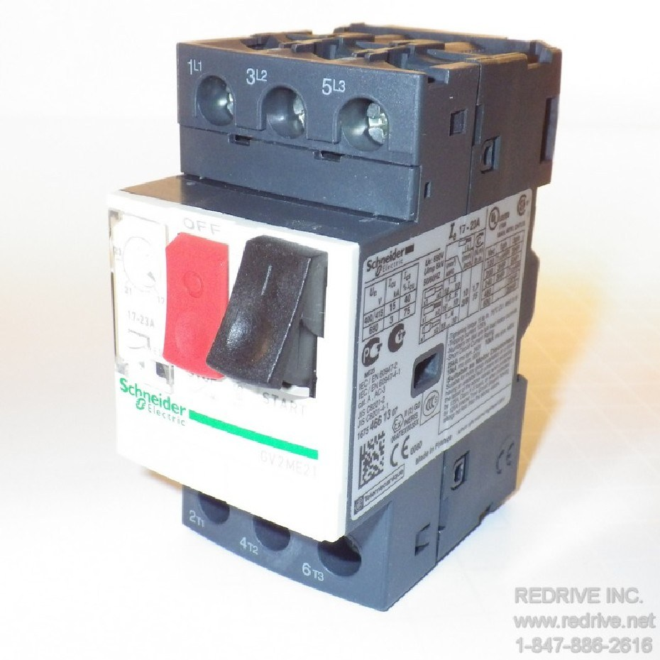 Gv2me21 Schneider Electric Motor Starter And Protector