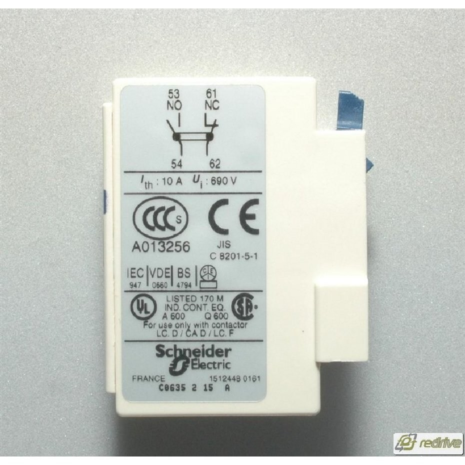 Ladn11 Schneider Electric Contactor Auxiliary Contact