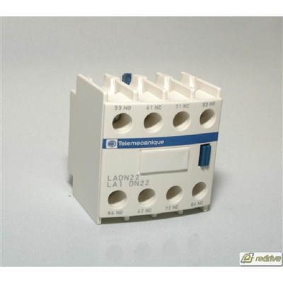 LADN22 Schneider Electric Contactor Auxiliary Contact Block IEC 600V