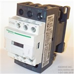 LC1D32T7 Schneider Electric Contactor Non-Reversing 50A 480VAC coil