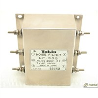 LF-305 NEC Tokin Noise Filter 250V 5A 3 phase LF305