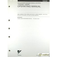 Yaskawa Yasnac CNC J300M Operating Manual