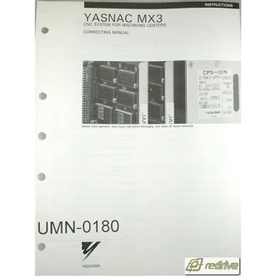 Yaskawa Yasnac CNC Manual MX3 Connecting Manual