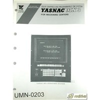 Yaskawa Yasnac CNC Manual MX3 Specifications