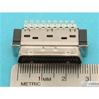 10136 3M Connector Mini-D Ribbon (MDR) Solder Plug