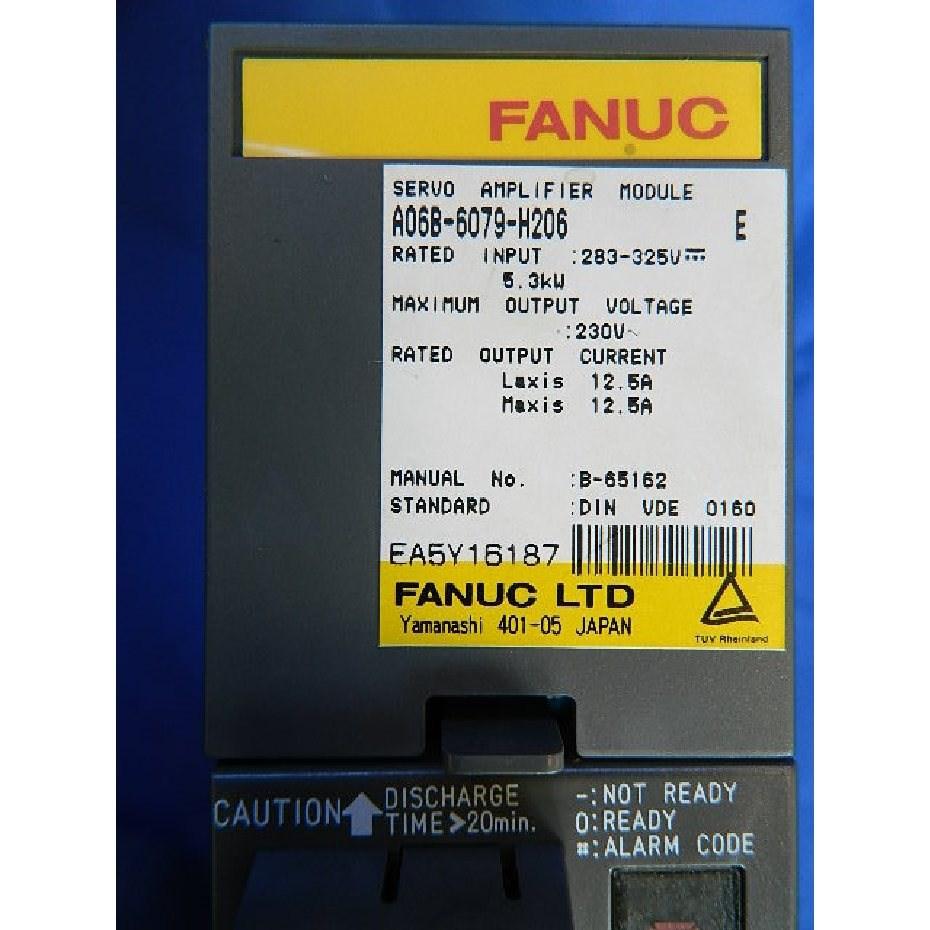 A06B-6079-H206 FANUC Servo Amplifier Module Alpha SVM-2-40/40 Repair and  Exchange Service