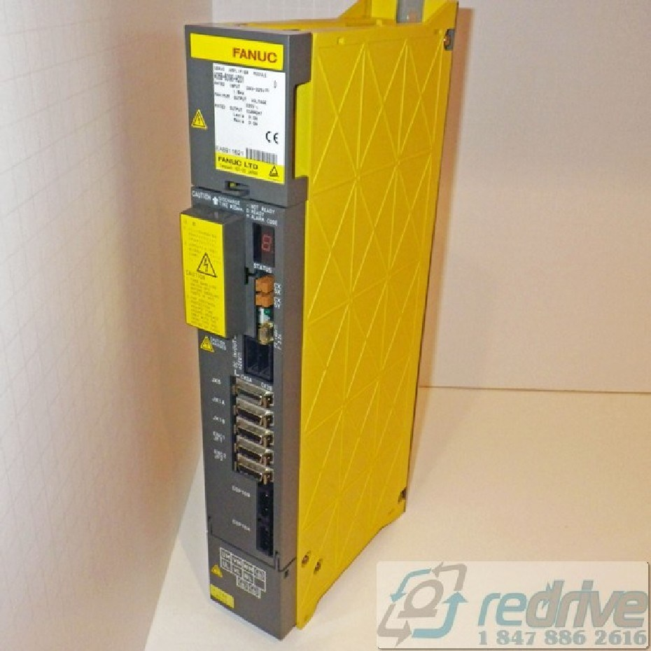 Repair A06B-6096-H201#CUT FANUC Servo Amplifier Module SVM2-12/12 FSSB  alpha servo amp  Dual axis A06B-6096 CNC AC servo drive