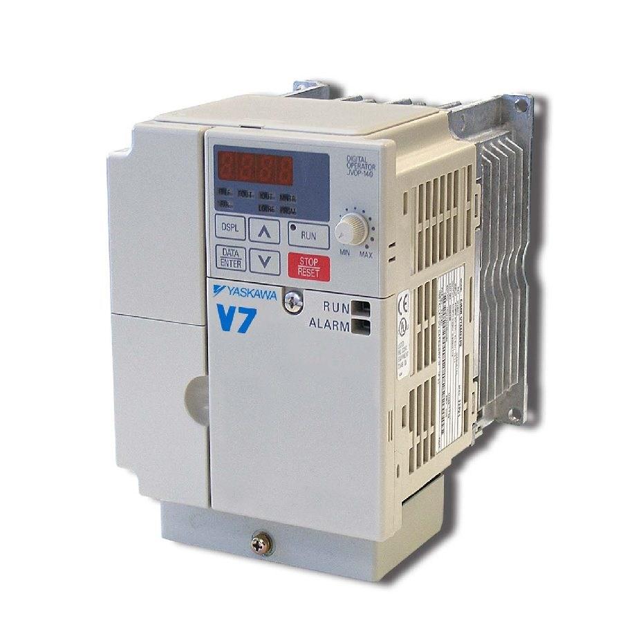 New Cimr V7am41p51 Yaskawa V7 Gpd315 Hv Ac Drive 3hp 460v Vfd Wiring Diagrams