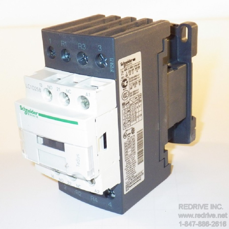 Lc1d258g7 Schneider Electric Contactor Non Reversing 40a 120vac Coil Electrical Wiring Home Circuit Breaker Buzzing