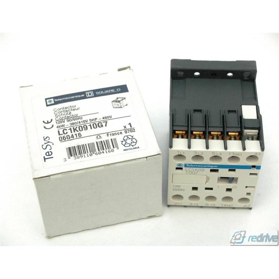 SCHNEIDER ELECTRIC LC1K0910G7 120VAC Non-Reversing IEC Mini Magnetic Contactor