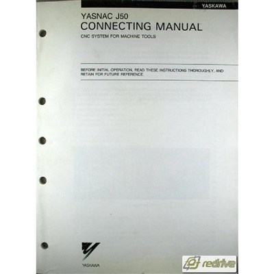 Yaskawa Yasnac CNC J50 Connecting Manual